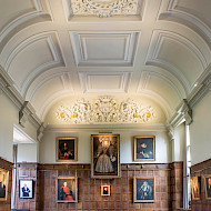 Jesus College Oxford Dining Hall, Winner of Oxford Preservation Trust Building Conservation Award 2017. Employer. The University of Lincoln. Client. Jesus College Oxford.