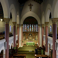 Christ Church Streatham, Interior architectural paint research (assisting) For: Dr Ian Bristow