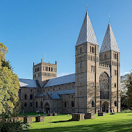 Southwell Minster and Bishops Palace, localised cleaning, conservation and pigment analysis.  Client. The Diocese of Southwell & Nottingham