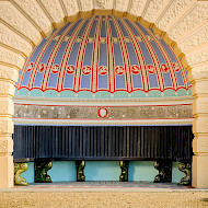 Osborne House Lower Terrace Shell Alcove. Researched by Crick-Smith since 1996. Restored 2017. Employer (restoration only): University of Lincoln.  Client: English Heritage. Image Copyright Jim Holden Photographer