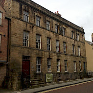 NEW COMMISSION AT NARROWGATE HOUSE, ALNWICK. Full research of the interiors including historic paints and wallpapers