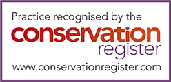 Practice recognised by the Conservation Register
